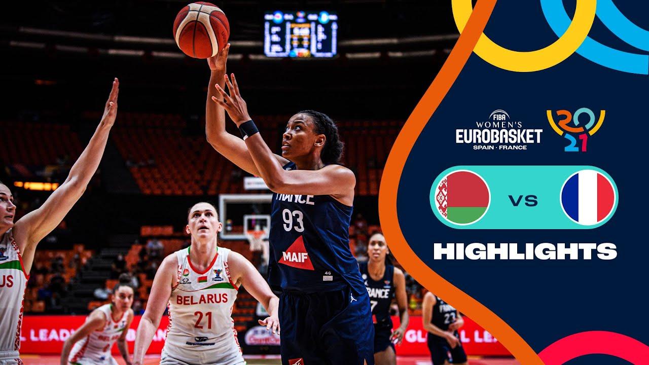Belarus - France   Full Highlights   Semi-Finals   FIBA Women's EuroBasket 2021