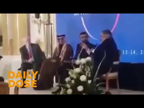 Leaked Video Shows Arab Ministers Defending Israel