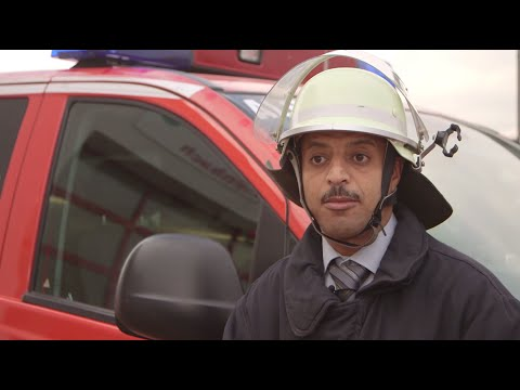 A Refugee In Germany Joins The Fire Brigade