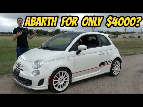 I Bought the Cheapest Fiat 500 Abarth in the USA!!! (Damaged from ANIMAL ATTACK?)