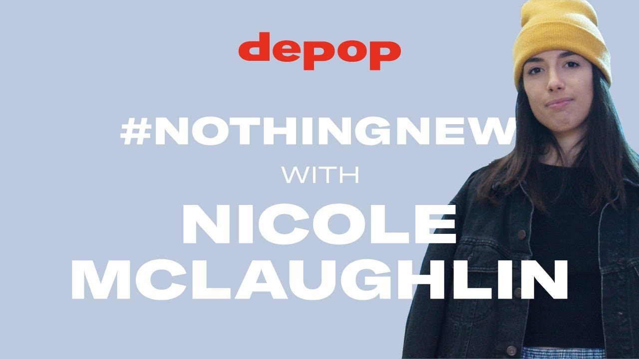 745b41f2a68 Depop Presents   #NothingNew: Creativity & Sustainability with Nicole  McLaughlin