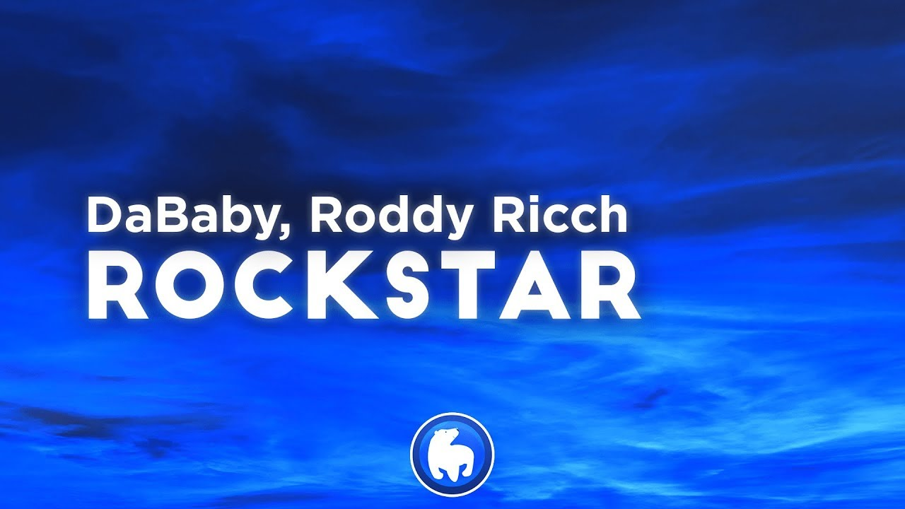 DaBaby - ROCKSTAR (Clean - Lyrics) feat. Roddy Ricch