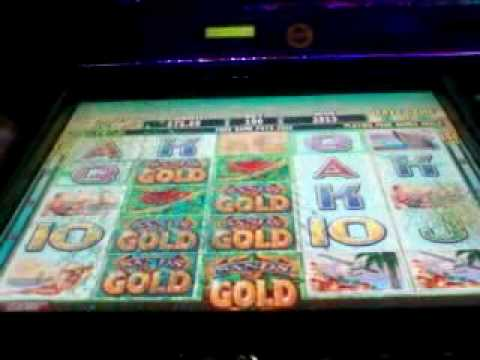 GREAT Sands of Gold (IGT) Video Slot Machine Bonus Win - 40 Free Spins!!