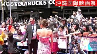 沖縄国際映画祭に行って参りました 斎藤工さんが来た時、ファンの人たち...