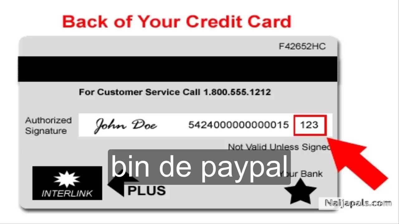 Paypal Bins