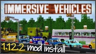 IMMERSIVE VEHICLES MOD 1.12.2 minecraft - how to download and install [Transport Simulator 1.12.2]