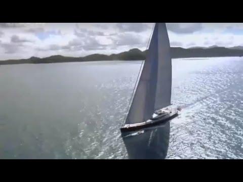Simple and Elegant Design Sailing Yacht PRaNA 2016