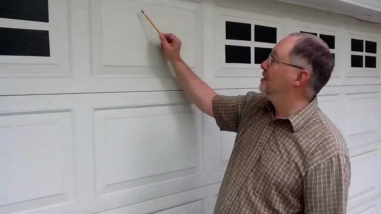 Faux Windaux Tm Faux Fake Garage Door Windows Installation Youtube