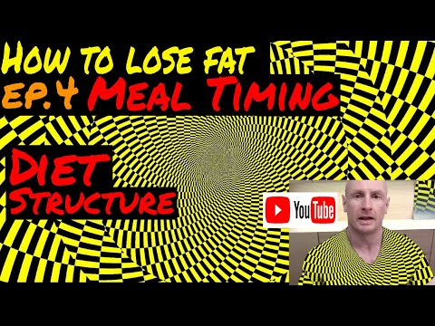 How to lose fat and not muscle - Episode 4: choose your Meal Timing and fix your Diet Structure.