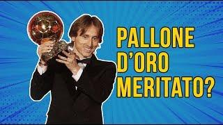 LUKA MODRIC MERITA IL PALLONE D'ORO?