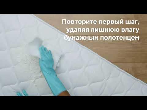Как быстро удалить пятна мочи с матраса | Cleanipedia