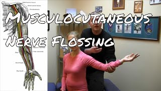 Get Rid of Shoulder and Upper Arm Pain by Flossing the Musculocutaneous Nerve.