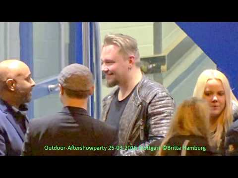 Sunrise Avenue - Outdoor Aftershowparty @Stuttgart 2016-03-25 (full Video)