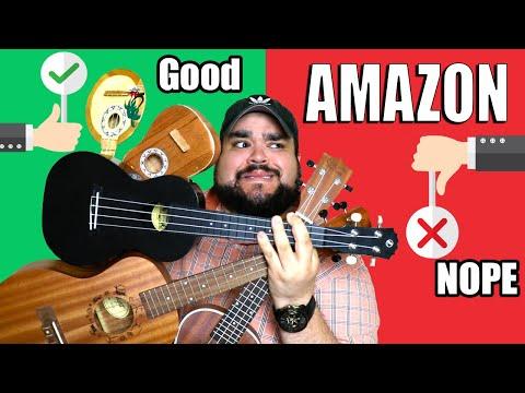 BUYING THE CHEAPEST UKULELES ON AMAZON | UKULELE REVIEW