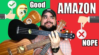 BUYING THE CHEAPEST UKULELES ON AMAZON | UKULELE REVIEW