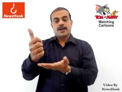 Watch funny cartoons to reduce stress, says study-Indian Sign Language News by NewzHook.com