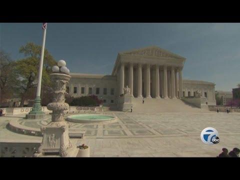 U.S. Supreme Court to decide on Michigan