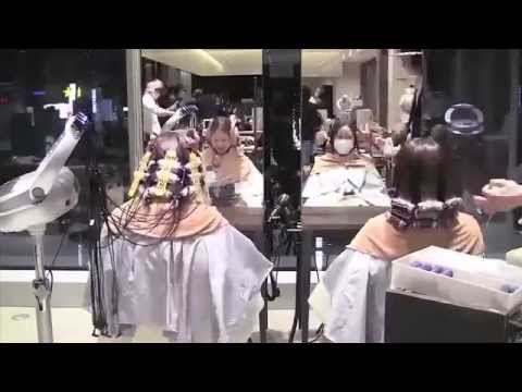 video proses keriting (perm) digital oleh AFLOAT Japan