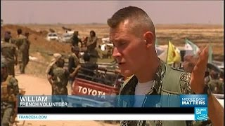 Syria: The French volunteers fighting IS-group jihadists