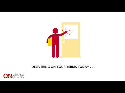 DHL On Demand Delivery - Here is how it works