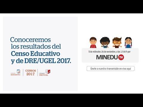 Censo Educativo - Minedu TV