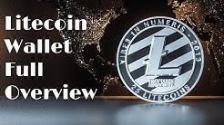 Litecoin Wallet Full Overview | Blockchain Tutorial | Backup also Restore Wallet