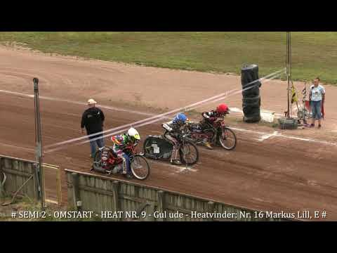 #FIM 250 Speedway Youth World Championship 2019# - SEMI 2 - 20.07.2019-D