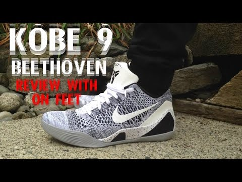 kobe 9 Elite Low  beethoven  Close Up Review And On Foot - YouTube ddc35f66e