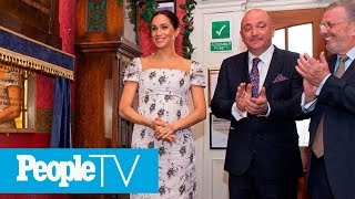 Meghan Markle Jokes That She's Feeling 'Very Pregnant' During Outing | PeopleTV