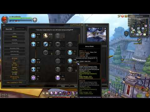 Dragon Nest SEA -UPDATED! Crusader Lv 95 PVE Skill Build
