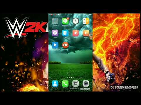 Anon cloud WWE 2K 17 start with Play Store