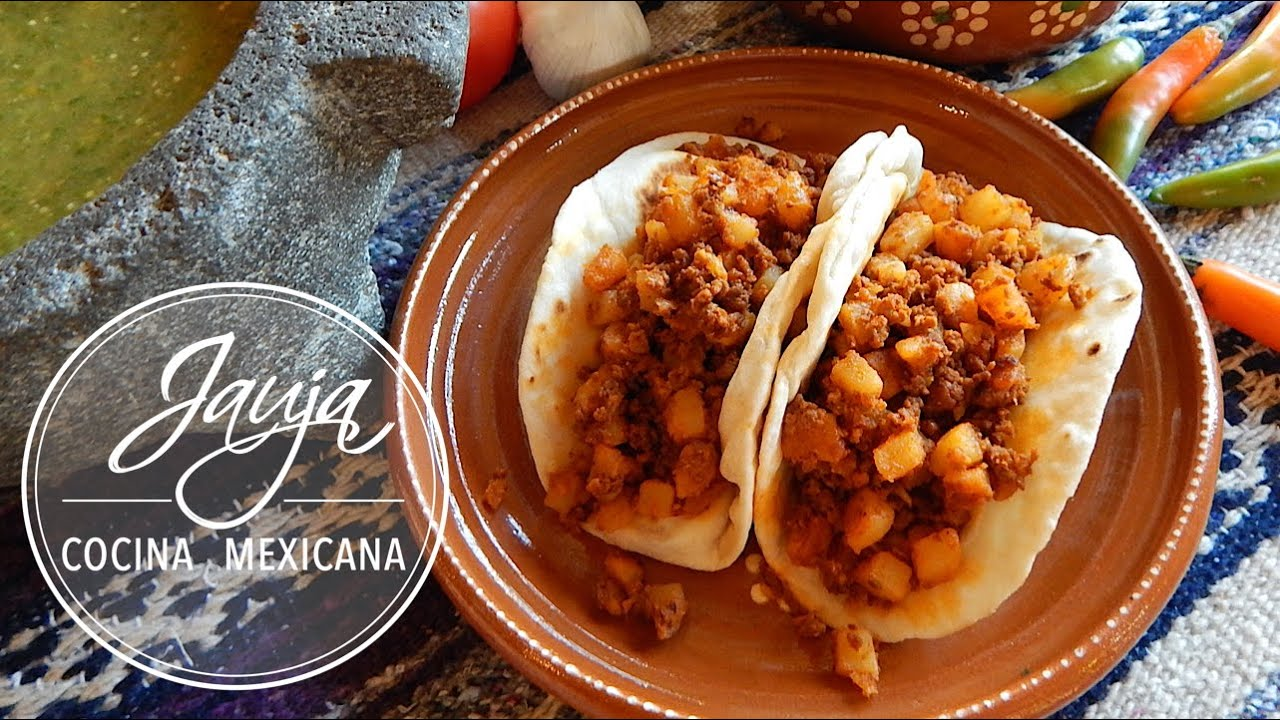 Chorizo and Potato Breakfast Tacos - YouTube