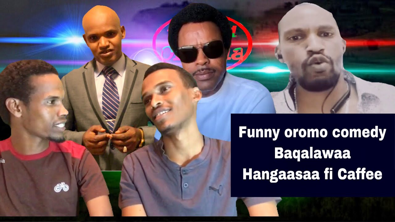 Oromo Comedy interview with Baqlawaa Dirree