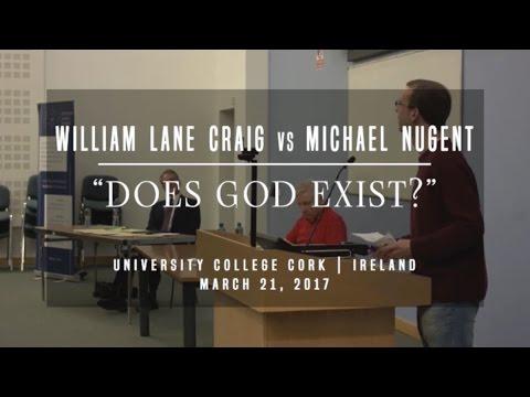 William Lane Craig vs Michael Nugent | Does God Exist? - Ireland, March 2017