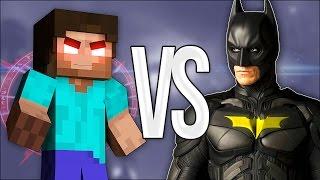 - ХИРОБРИН VS БЭТМЕН СУПЕР РЭП БИТВА Batman Против Herobrine Minecraft