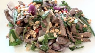 Thai Beef Salad With 'nam Jim' - Video Recipe