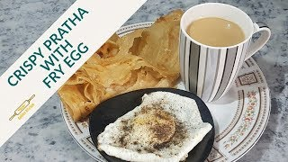 Perfect Anda Pratha Recipe | Quick Easy Breakfast | How To Cook Perfect Egg, Pratha | Golden Kitchen