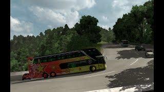Sempati STAR jalur Sitinjak lauik PADANG || ETS 2 BUS MOD INDONESIA