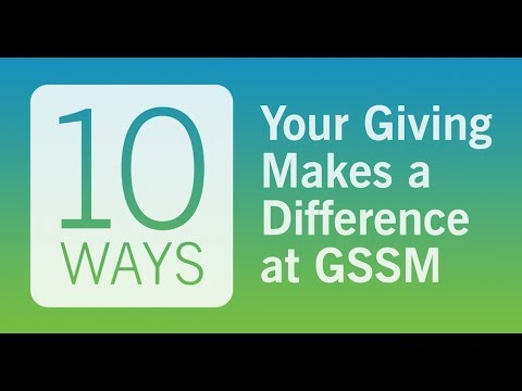 10 Ways Your Giving Makes a Difference at GSSM