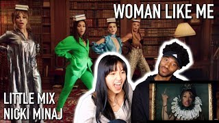 LITTLE MIX - WOMAN LIKE ME FT. NICKI MINAJ | MUSIC VIDEO REACTION