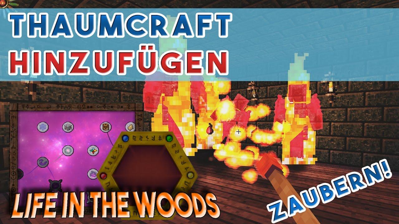 Thaumcraft Downloaden Und Zu Modpack Hinzufügen Life In The Woods - Minecraft server erstellen life in the woods
