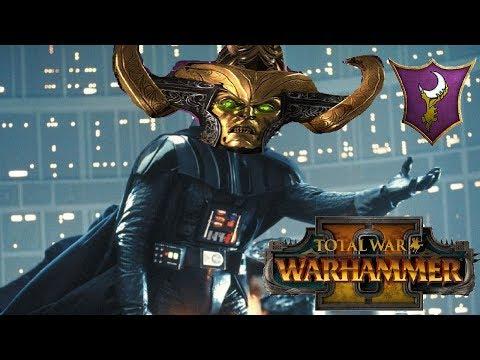 Dark Elves vs Skaven   DARTH MALEKITH RISES - Total War Warhammer 2 Multiplayer Game
