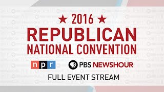 Watch the Full 2016 Republican National Convention - Day 1 Free HD Video