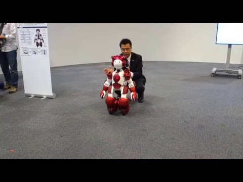 Hitachi's new customer service robot can keep pace with humans