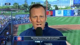 Kelly Crull and <b>Len Kasper</b> preview the Cubs' season