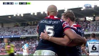 NRL Highlights: Sydney Roosters v Gold Coast Titans - Round 12