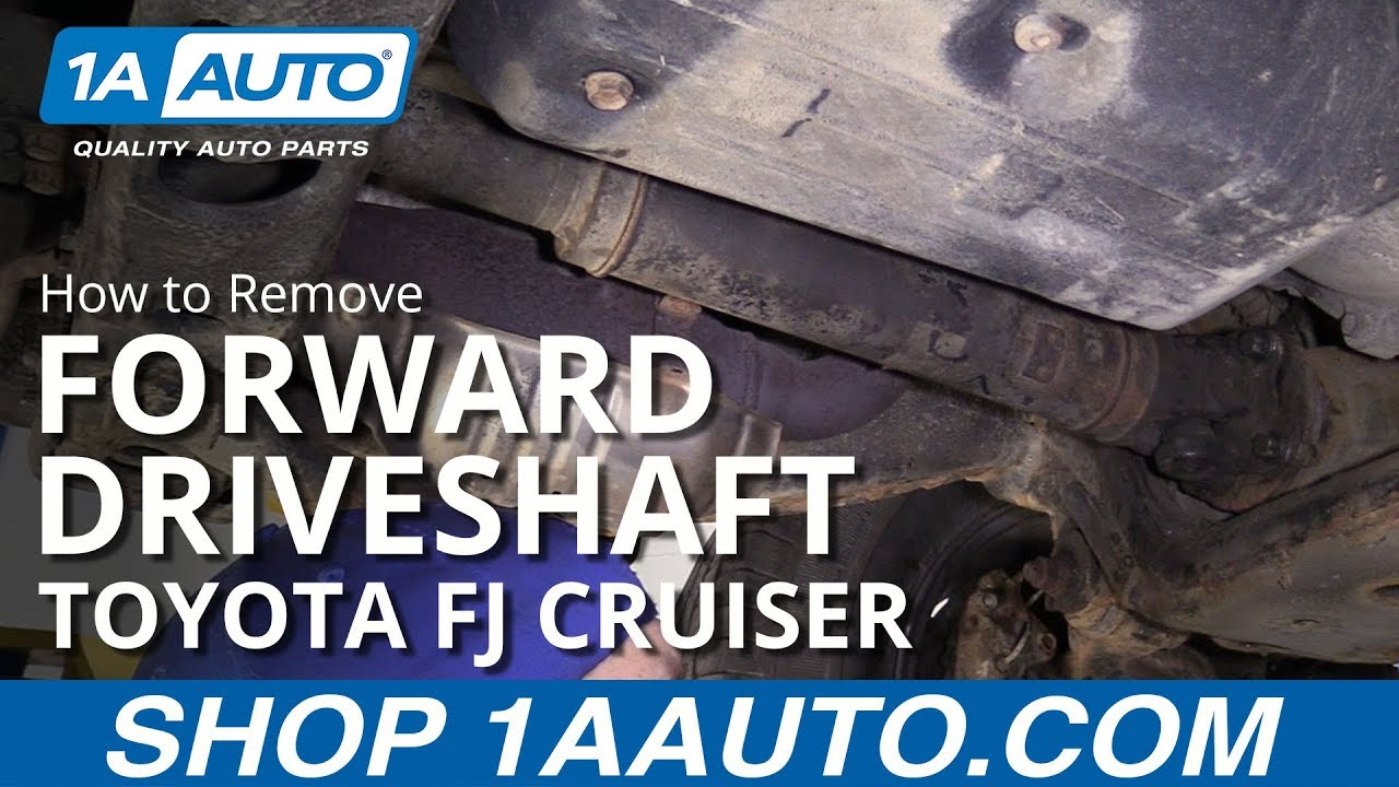 How to Replace Forward Driveshaft 07-14 Toyota FJ Cruiser