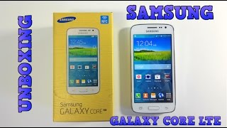 Samsung Galaxy Core LTE Unboxing