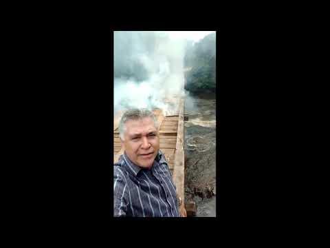 Produtores acusam índios queimar ponte para sabotar escoamento de safra