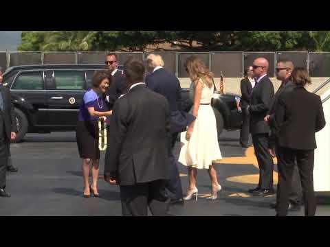 President Trump Visits U.S. Pacific Command